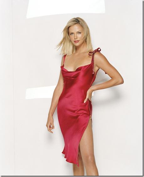 vestido charlize 2006: