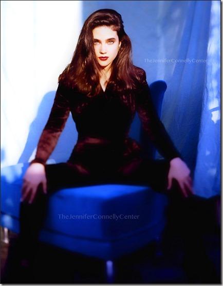JenniferConnellyShoot1990DiegoUchitel1